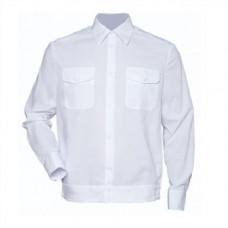Рубашка форменная белая кадетская дл/рукав