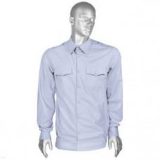 Рубашка форменная бледно-голубая Полиция мужская