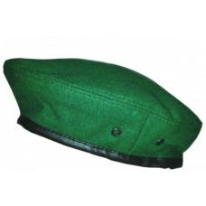 Берет простой зеленый