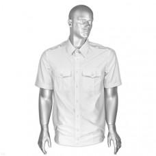 Рубашка форменная белая мужская кор/рукав