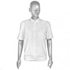 Рубашка форменная белая женская кор/рукав