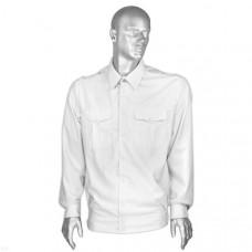 Рубашка форменная белая мужская дл/рукав
